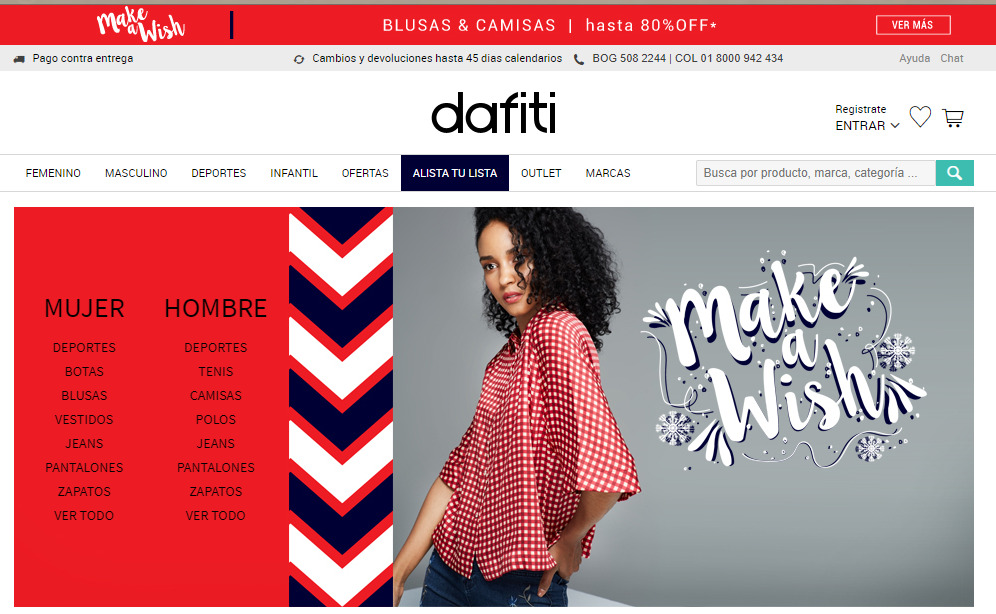 Dafiti: opiniones análisis y valoración