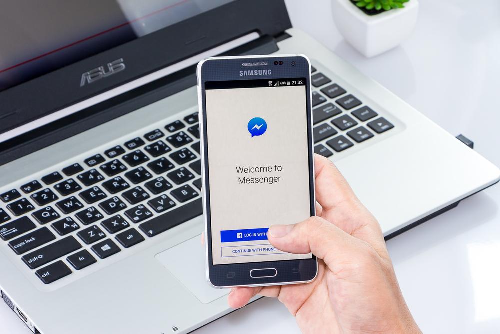 Mensajes patrocinados en Messenger