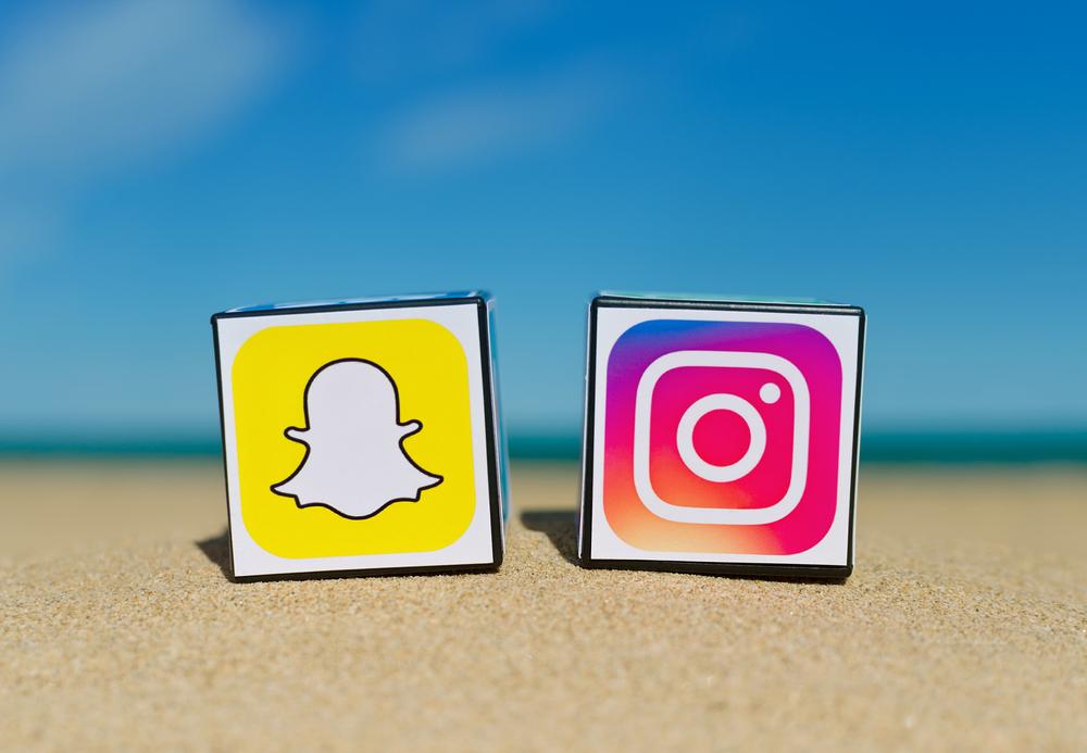 Instagram le roba los usuarios a Snapchat