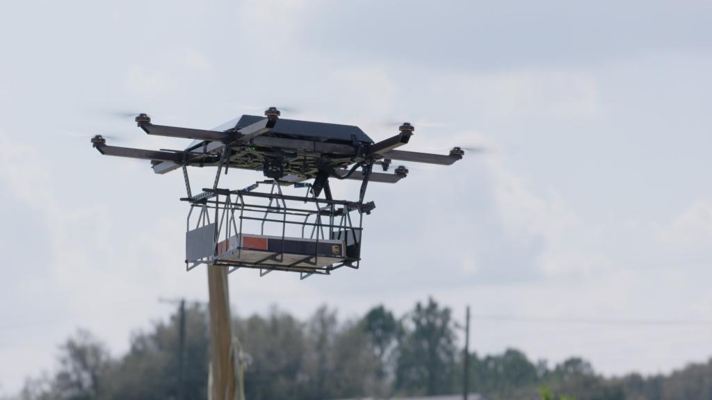 UPS usará drones para su sistema de logística