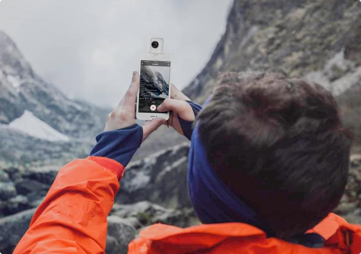 vídeos en vivo en 360°