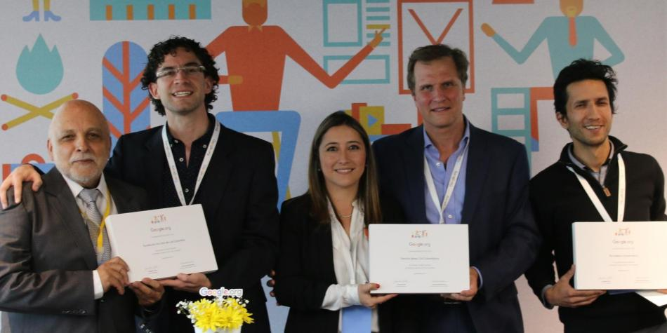 Google premia a las ONG colombianas