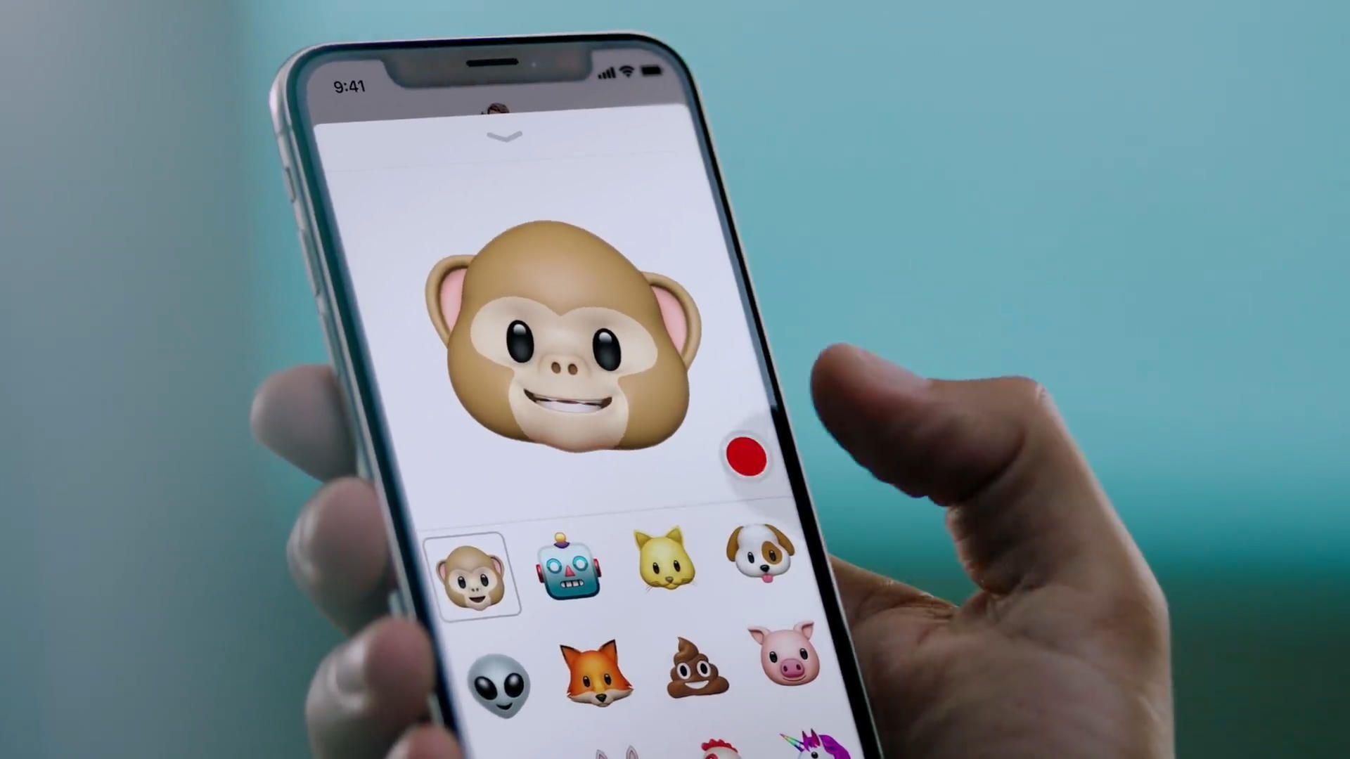 Los animojis son la nueva tendencia viral que el iPhone X trajo consigo
