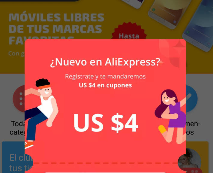 Aliexpress app: opiniones y valoración