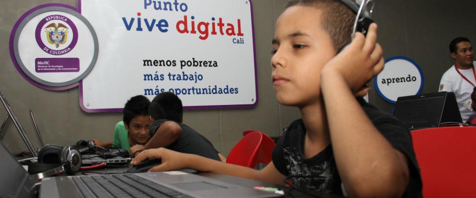 MinTIC restablece el servicio en los Puntos Vive Digital
