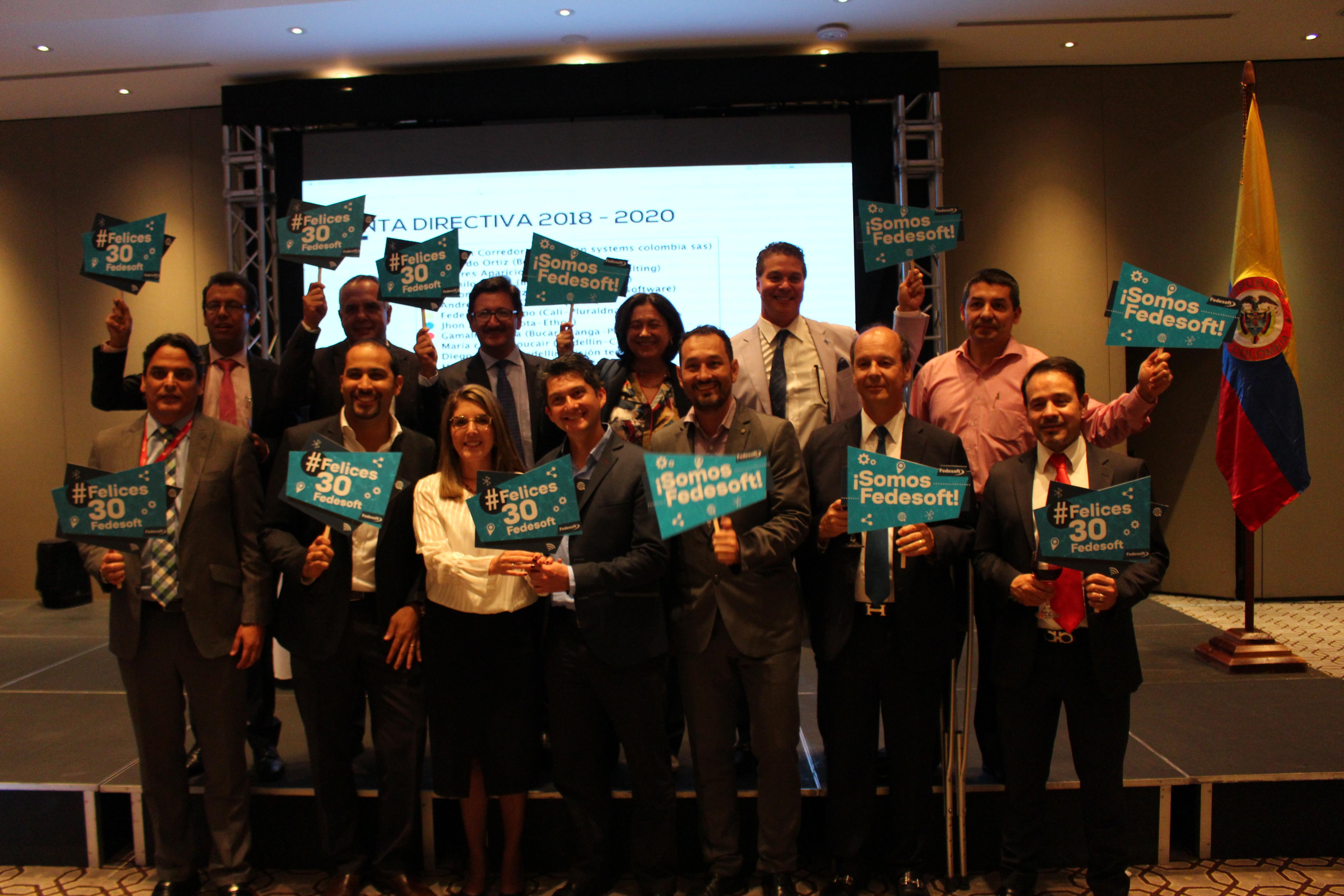 La Asamblea Anual Ordinaria Fedesoft 2018 dio a conocer el panorama del ecosistema TI en Colombia