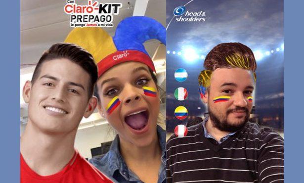 En Colombia las marcas llevan la pasión del fútbol a Snapchat por medio de la realidad aumentada