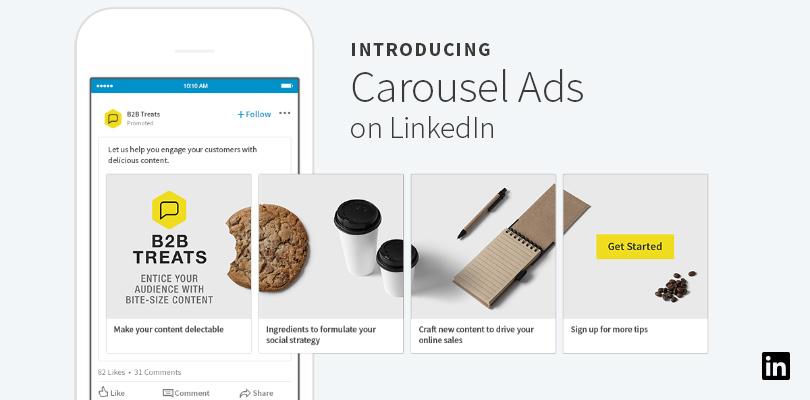 anuncios carrusel linkedin