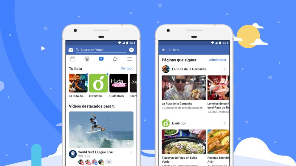 Conoce Watch: la nueva plataforma de vídeo streaming de Facebook que ya está en Colombia