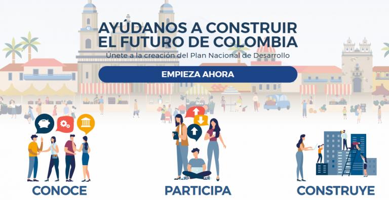 Colombia utiliza la plataforma de participación ciudadana Pacto por Colombia, Pacto por la equidad