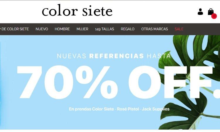 Color siete Colombia
