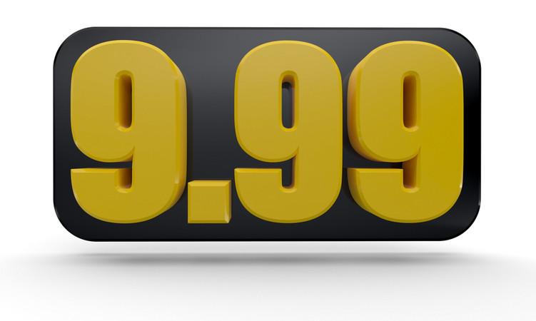 Cómo aumentar la facturación ajustando los precios psicológicos: el poder del 9