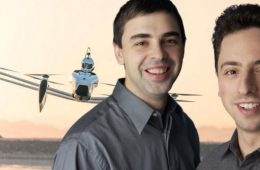Larry Page y Sergey Brin dejan Google tras 20 años... para fabricar coches voladores (!)