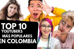 Top 10: los youtubers colombianos con más seguidores