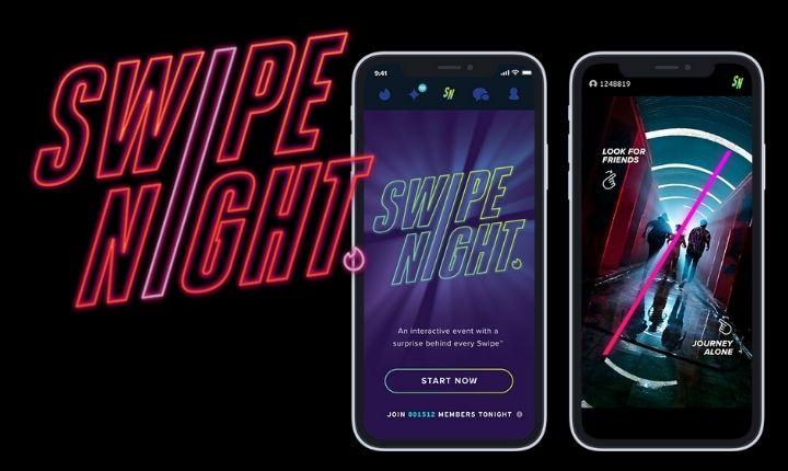 Así es Swipe Night: el espectáculo interactivo de Tinder llega a España el 12 de septiembre