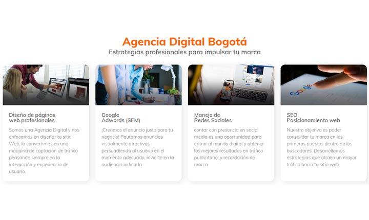 AMD Agencia, mejores agencias de marketing digital en Colombia