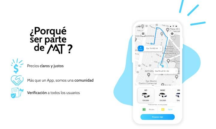 App de movilidad MAT