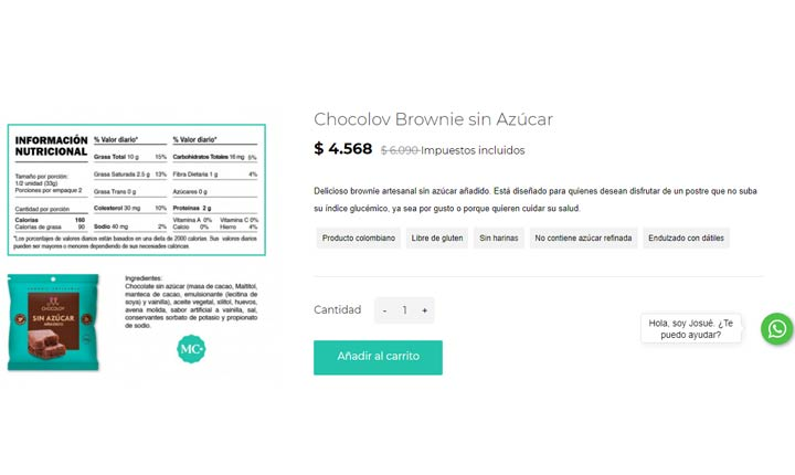 Ficha de producto Mercado Común