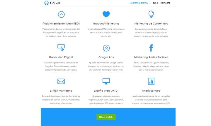 Statum mejores agencias de marketing digital en Colombia