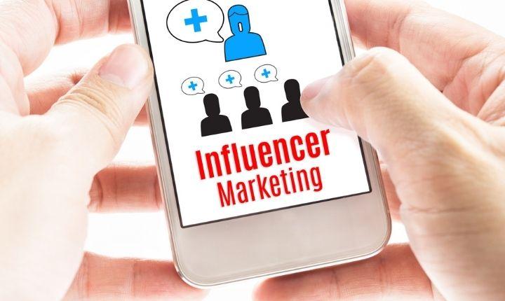 publicidad a través de influenciadores