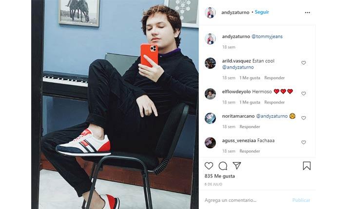Andrés Zaturno influencers de moda