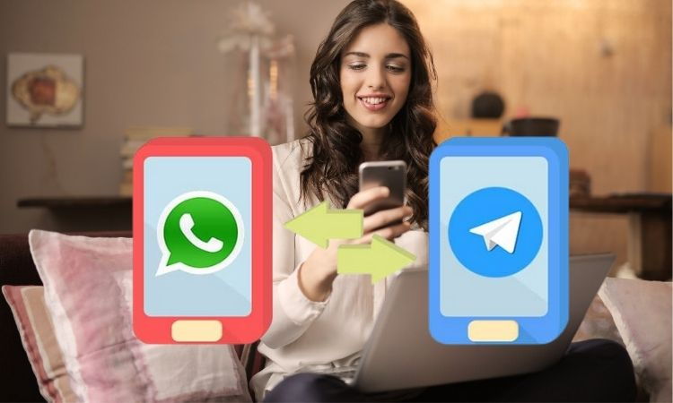 migrar chats, Telegram, WhatsApp