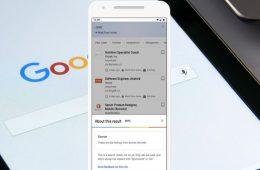 Google ofrece información ampliada sobre sus resultados de búsqueda para potenciar la confianza de los usuarios