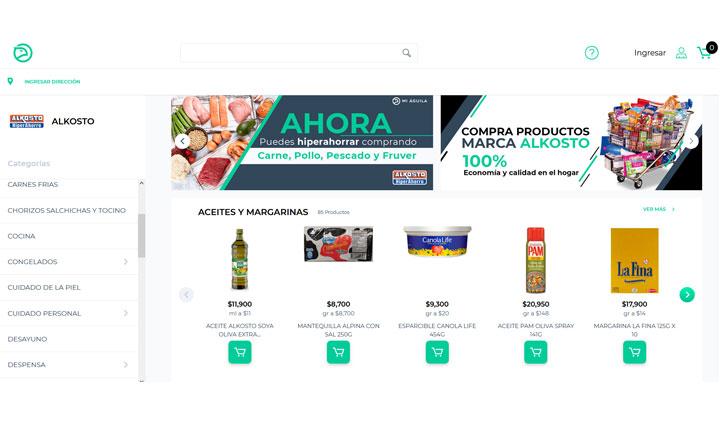 Mi Águila Alkosto marketplace