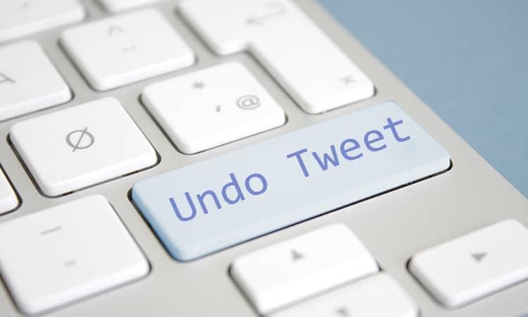 Twitter prepara un botón para que deshagas un tuit... hasta 5 segundos después de publicarlo