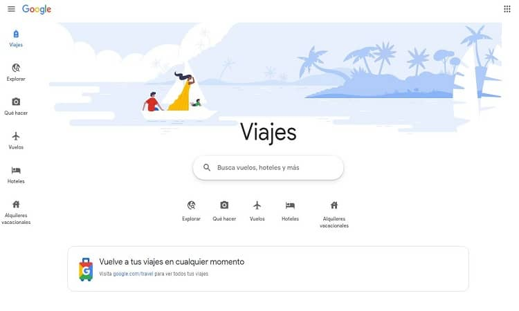 Los hoteles y agencias de viajes podrán anunciarse de forma gratuita en Google Travel