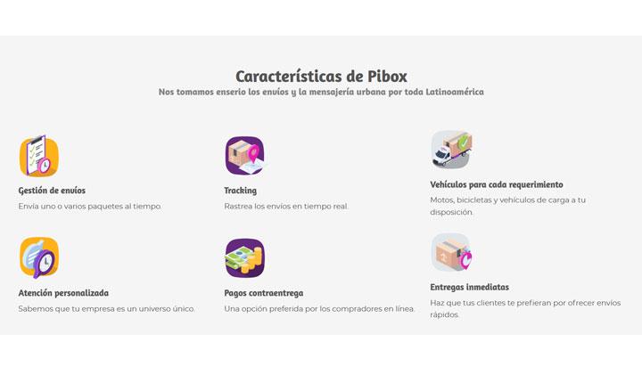 Características de Pibox