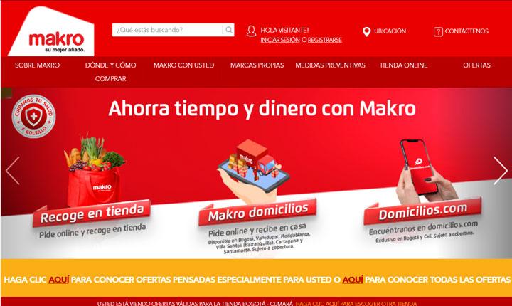 Tienda online Makro