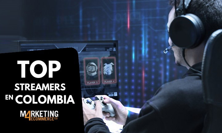streamers colombianos en Twitch