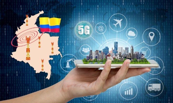 la conexión a internet en Colombia