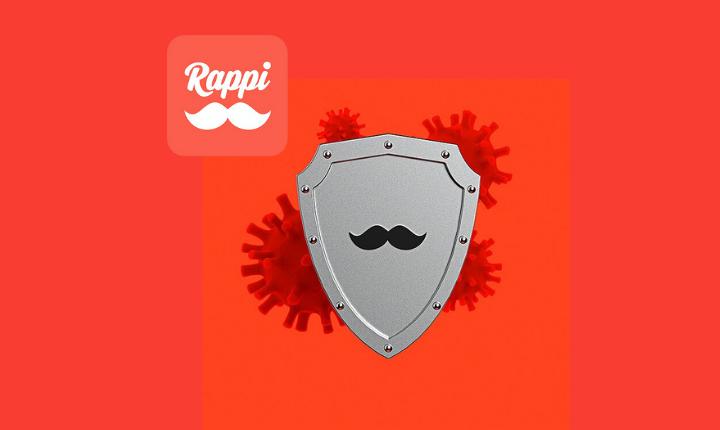 Vacunación en Rappi
