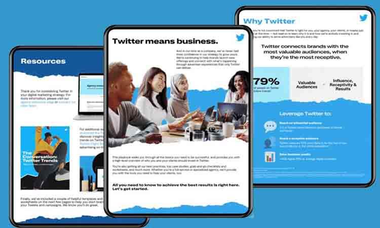 Twitter lanza Agency Playbook, una guía práctica para que las marcas hagan un uso eficiente de la red social