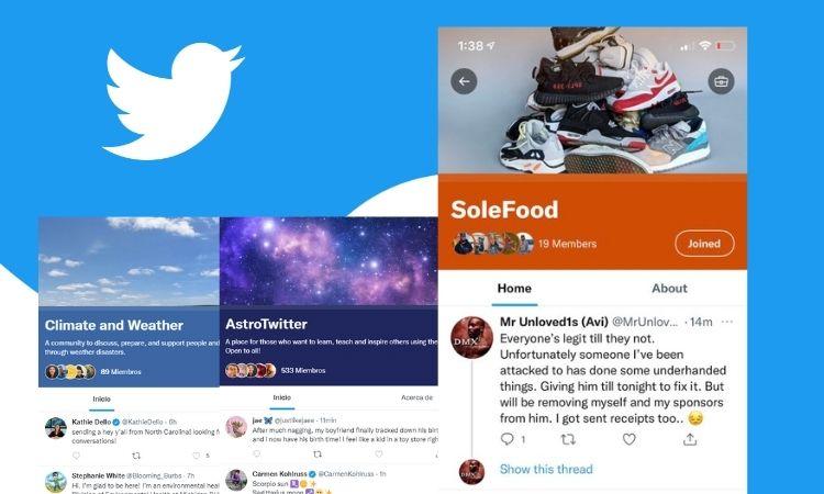 Twitter lanza sus nuevas Comunidades: grupos de usuarios alrededor de intereses concretos